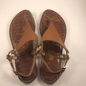 Women's Sam Edelman Leather GRETA Sandals-7.5M